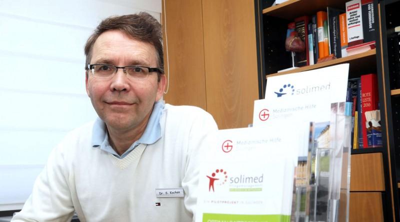 """Geschäftsführer von """"Solimed – Unternehmen Gesundheit"""" Dr. Stephan Kochen"""