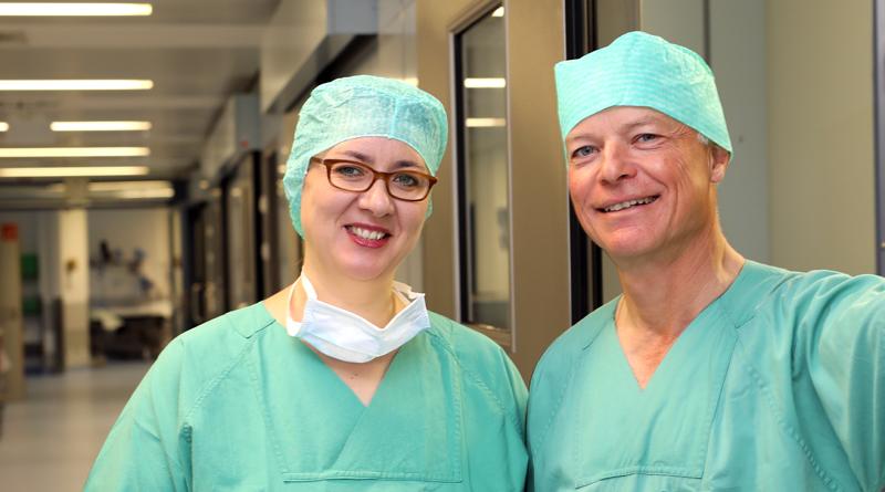 Handchirurgin Anne Brüske & Dr. Markus Meibert