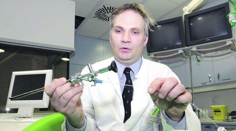 Einer der Experten in der Runde ist Prof. Dr. Markus Heuser, Urologie-Chefarzt am Klinikum.