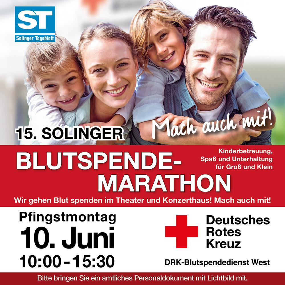15. Solinger Blutspende-Marathon @ Theater und Konzerthaus