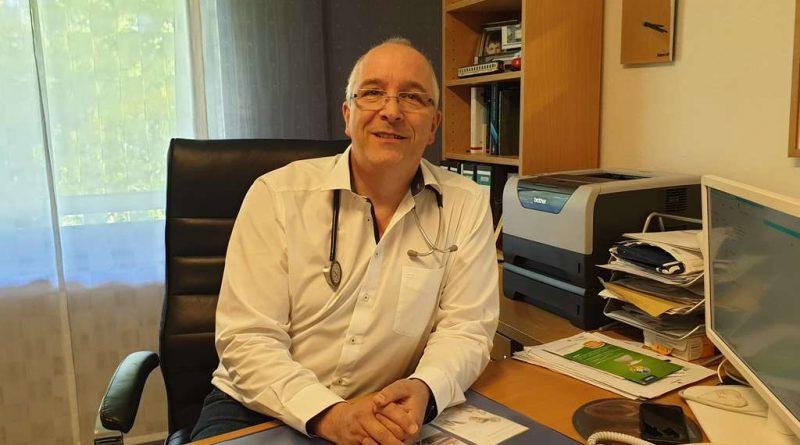 obias Hopff setzt darauf, seine Patienten mit guten Argumenten zu überzeugen.